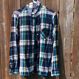 Old Navy Classic Flannel Shirt L